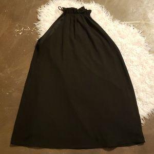 Dresses & Skirts - Large high neck Black dress a line loose